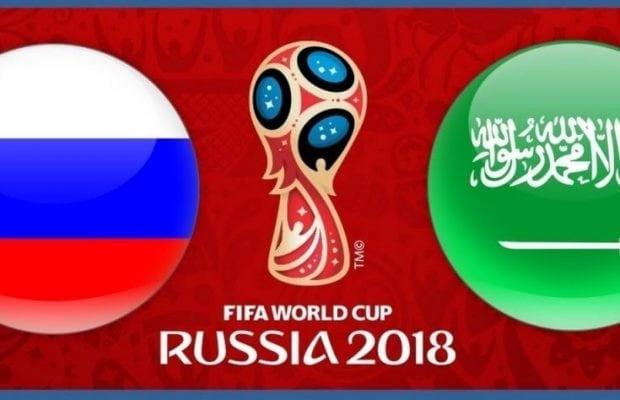 Speltips Ryssland Saudiarabien - bästa odds tips premiärmatch fotbolls VM 2018!