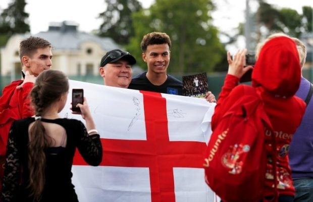 England kryssade