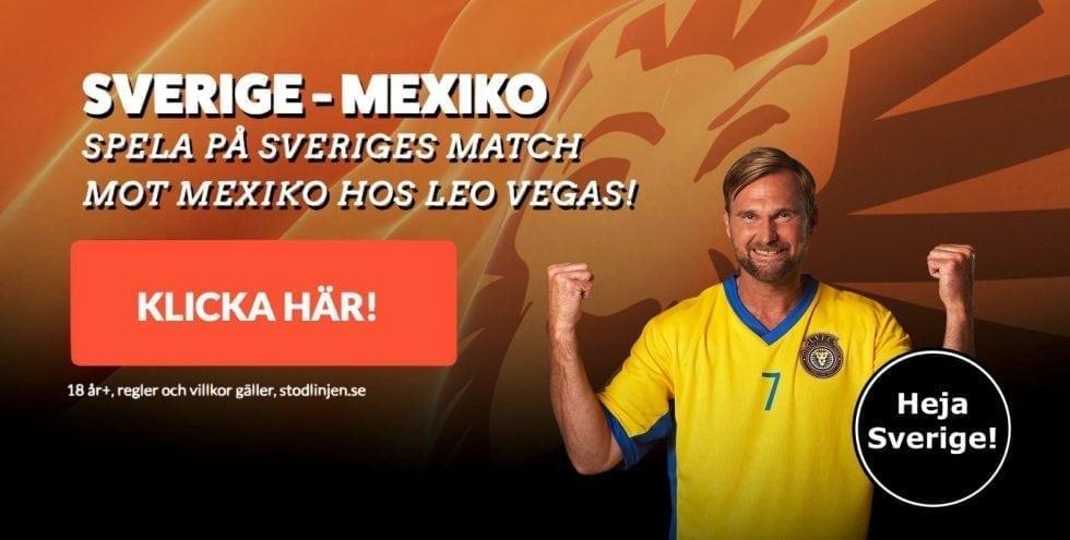 Sverige Mexiko startelva, laguppställning & H2H statistik – VM 2018!