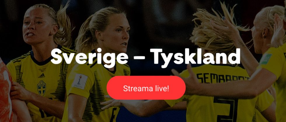 Sverige Tyskland TV kanal- vilken kanal visar Sverige Tyskland på TV?