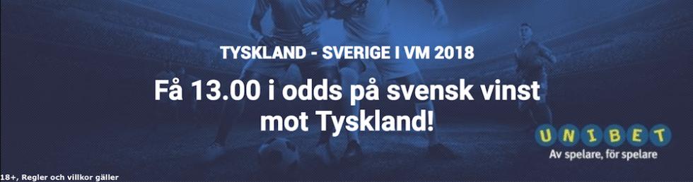 Sverige Tyskland startelvor & laguppställning