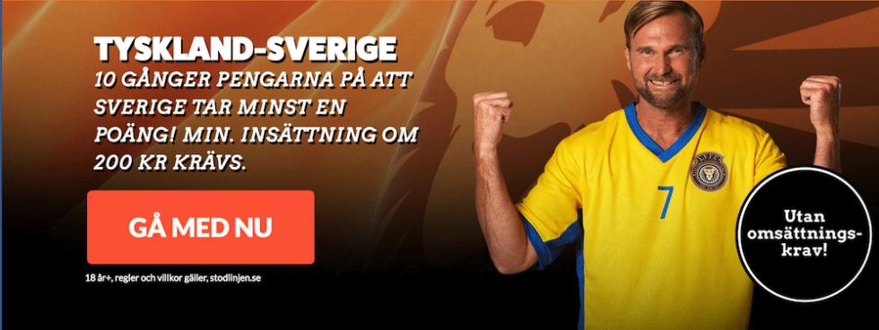 Sverige Tyskland startelvor