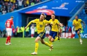 Sveriges spelschema Fotbolls VM 2018 - VM slutspel 2018