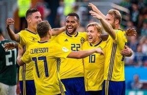 TV tider Sverige Schweiz - vilken tid Sverige Schweiz fotbolls VM 2018?