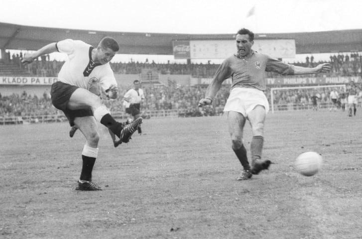 Helmut Rahn är en av fotbolls VM bästa målgörarna genom tiderna