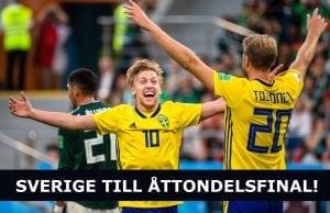Vilka får Sverige möta i åttondelsfinal VM 2018?