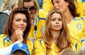 snygga svenska fans fotbolls vm