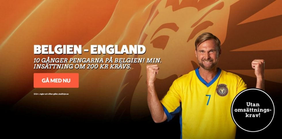 Belgien England stream? Streama Belgien England VM 2018 live stream online!