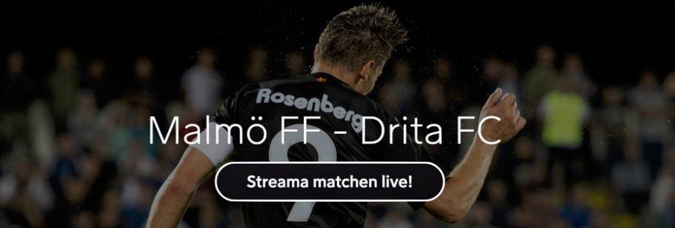 Malmö FF FC Drita TV-kanal - vilken kanal visar & TV-tider MFF Drita i Champions League?