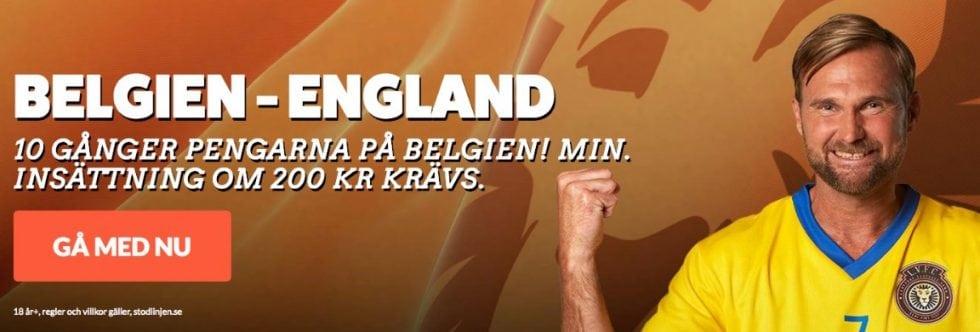 Odds Belgien England- bästa oddset tips inför VM-finalen 2018!