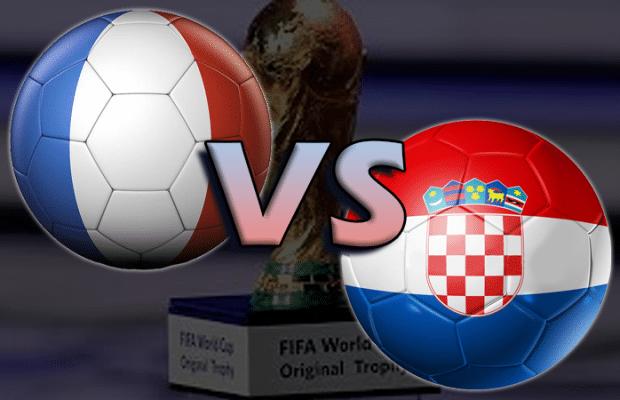 Odds Frankrike Kroatien - bästa oddset tips inför VM-finalen 2018!