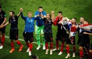 Odds på att Kroatien vinner fotbolls VM 2018