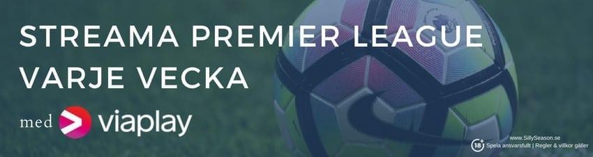 Se Premier League gratis på lördagar: titta på PL gratis online på nätet!