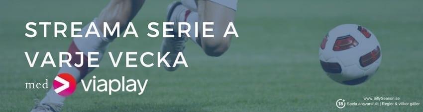 Serie A spelschema 2018