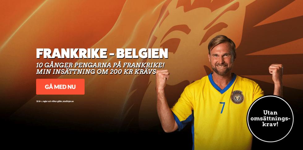 Speltips Frankrike Belgien - odds tips Frankrike Belgien, Fotbolls VM 2018!