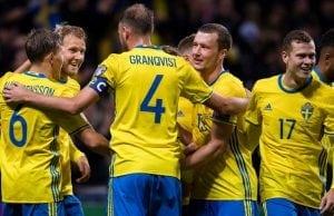Startelvan Sverige Schweiz - startelvorna inför åttondelsfinal fotbolls VM 2018!