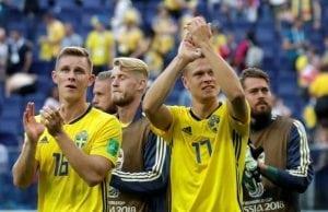 Sverige England startelva