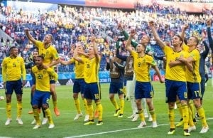 Sverige mot England
