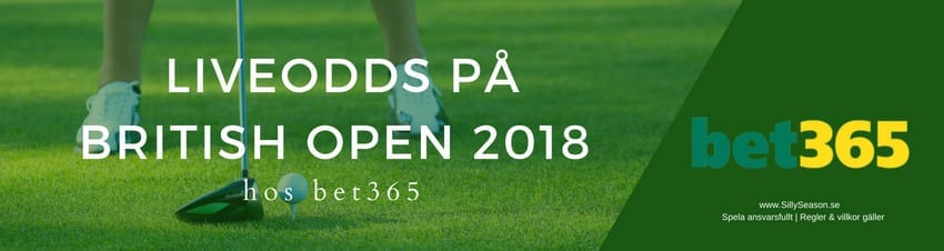 TV tider The open 2018