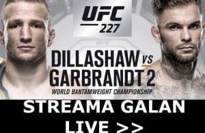 UFC 227 svensk tid & kanal- Dillashaw vs Garbrandt TV-kanal, sändning & tid Sverige