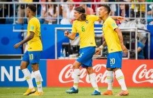 Vem visar Brasilien Belgien