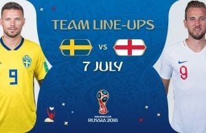 Startelvan Sverige England - startelvorna inför kvartsfinal VM 2018!