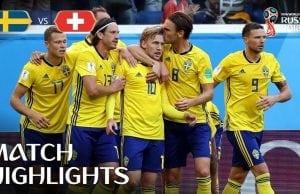 Sverige Schweiz mål höjdpunkter: highlights från Sverige-Schweiz VM 2018!