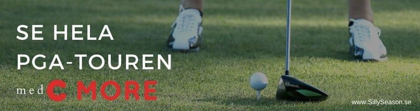 PGA-Touren på TV idag Sverige