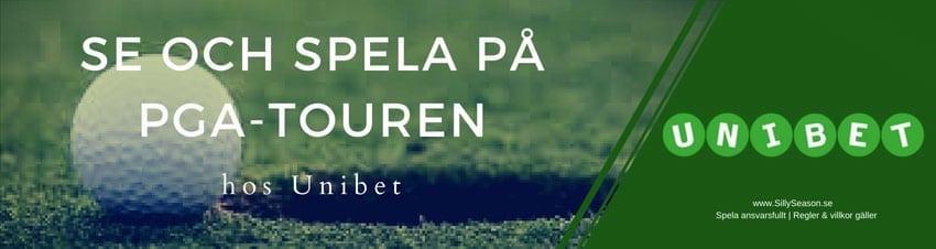 PGA Touren på TV idag Sverige