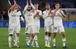 Real Madrid löner & lönelista 2018/2019