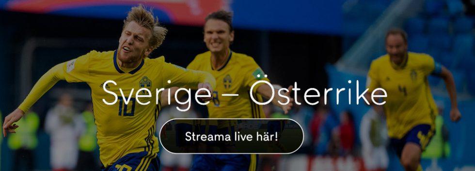 Sverige Österrike TV kanal  vilken kanal visar Sverige Österrike på TV  9ddf629e70b46