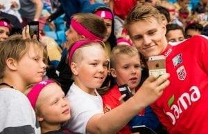 Uppgifter Martin Ödegaard till Premier League