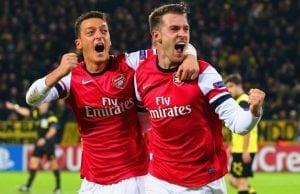 Uppgifter Ramsey på väg till Barcelona