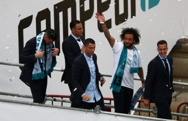 Uppgifter Ronaldo lockar Marcelo till Juventus