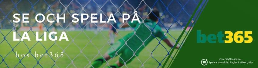 TV tider La Liga - se och spela på La Liga gratis på svensk TV idag/ikväll!