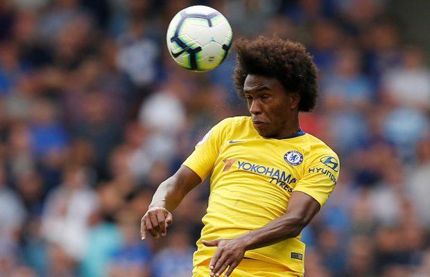 Bekräftar: Willian vill inte lämna Chelsea