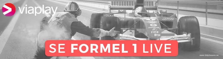 Formel 1 på TV idag - se F1 gratis på TV, nätet, live stream & TV-tablå Sverige!