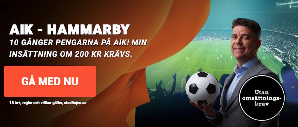 Odds AIK Hammarby