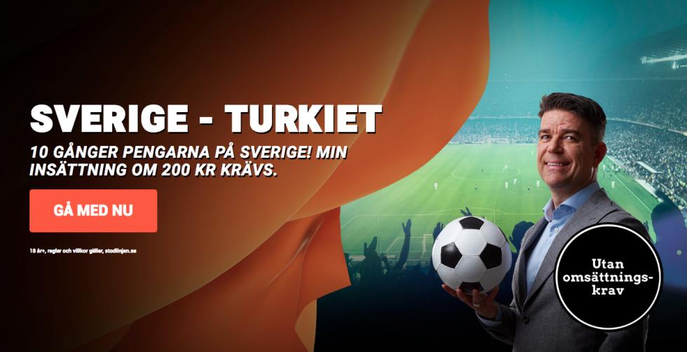 Speltips Sverige Turkiet
