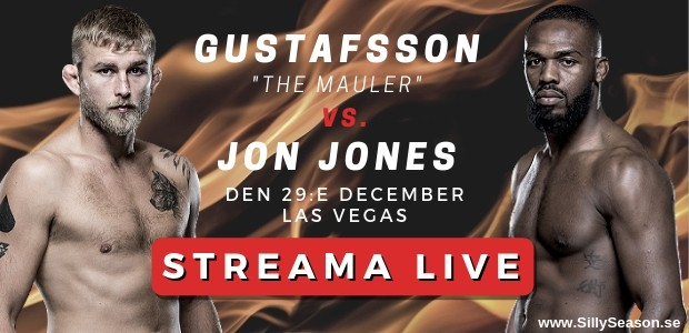 Alexander Gustafssons nästa match - The Maulers fight, TV, kanal & tid?