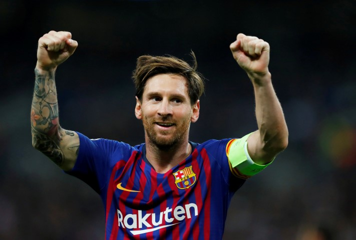 Messi tar over nummer tio