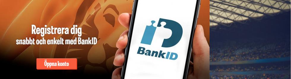 Betting sidor med mobilt BankID