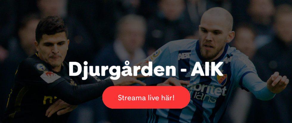 Djurgården AIK stream 2019