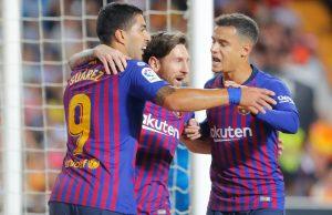 FC Barcelona Inter stream Champions League 2018