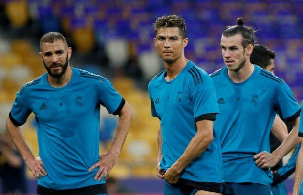 Fick Bale Zidane sparkad