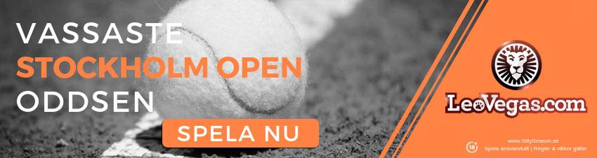 Prispengar Stockholm Open 2018
