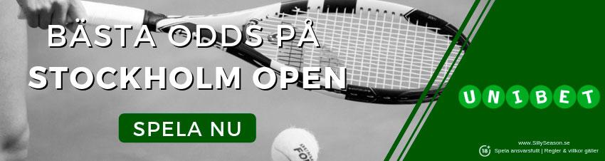 Prispengar Stockholm Open tennis