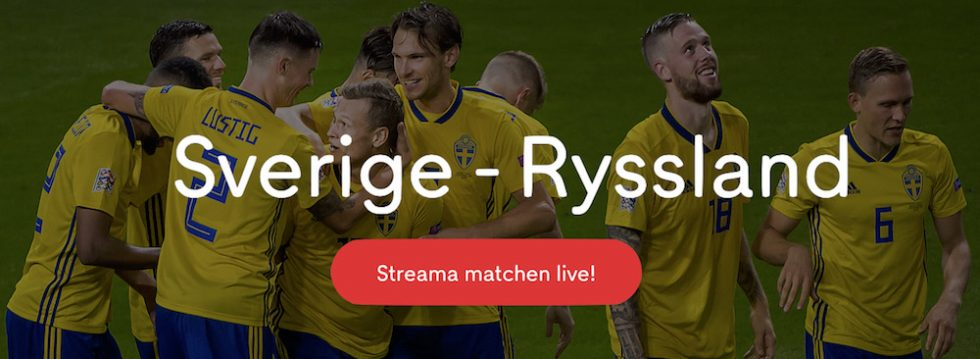 Sverige Ryssland stream Nations League