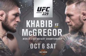 UFC 229 svensk tid & kanal Khabib vs McGregor TV-sändning i Sverige!