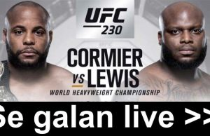 Cormier vs Lewis TV kanal